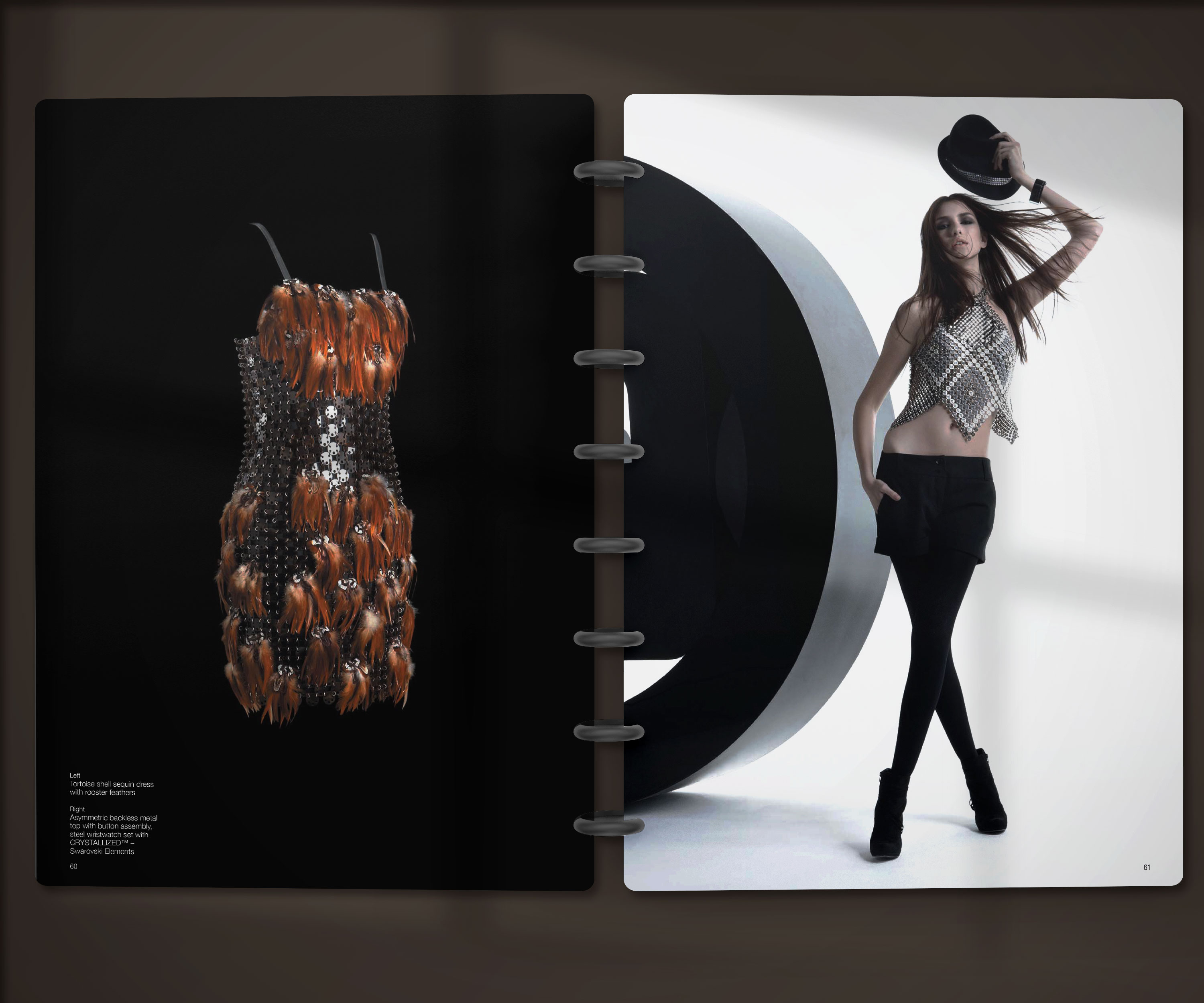 Double page du look book